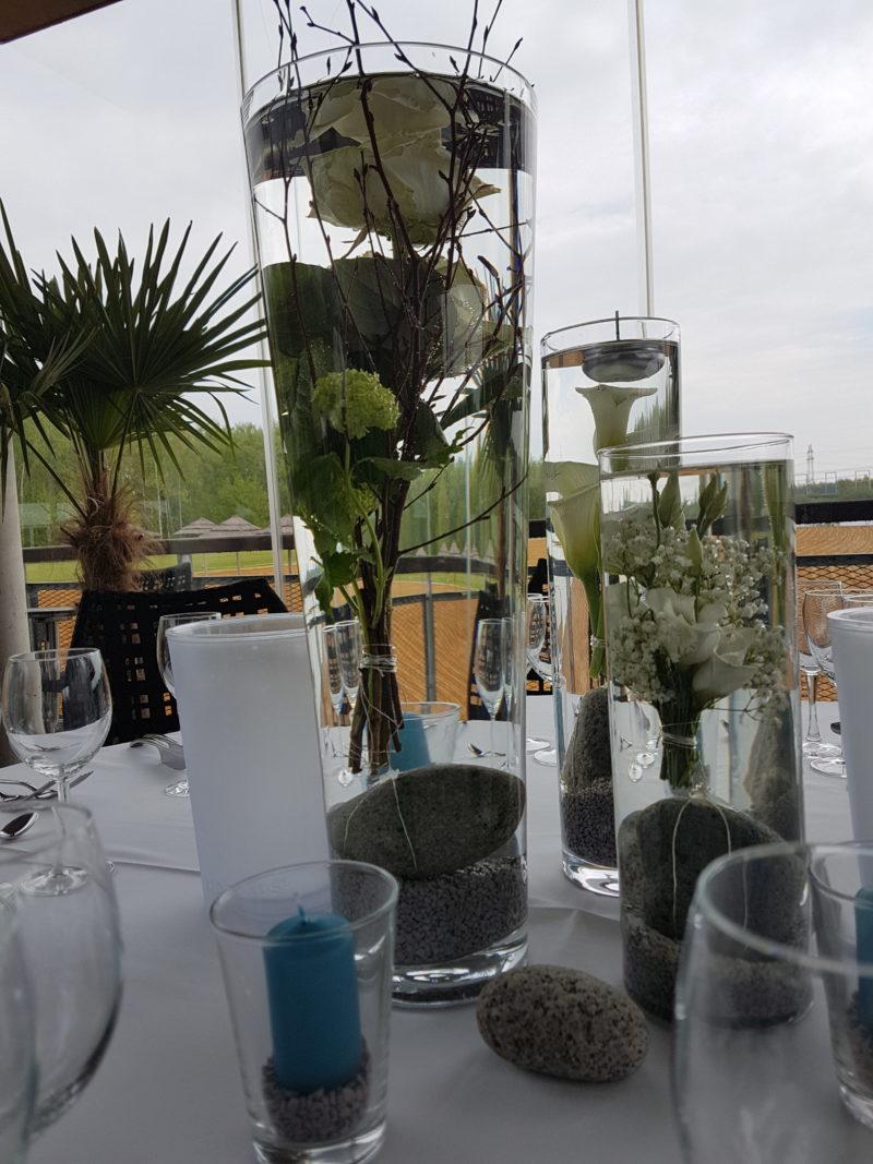 Tischdekoration Hochzeit im Strandhaus