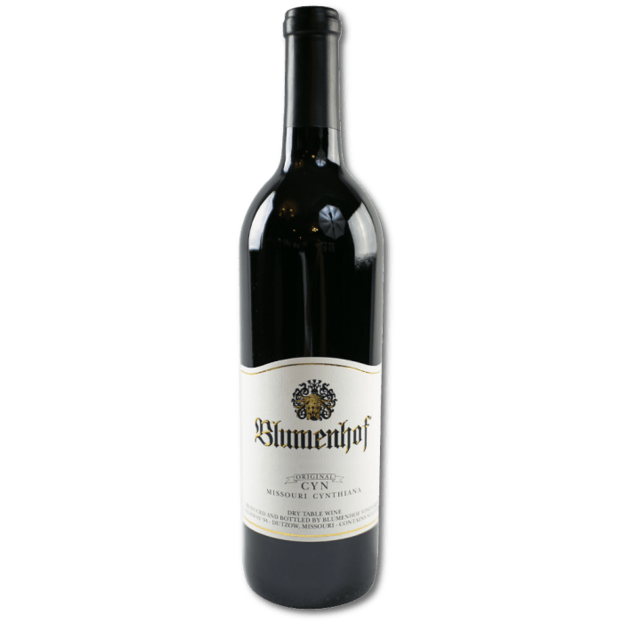 Original Cyn - Dry Red at Blumenhof Winery
