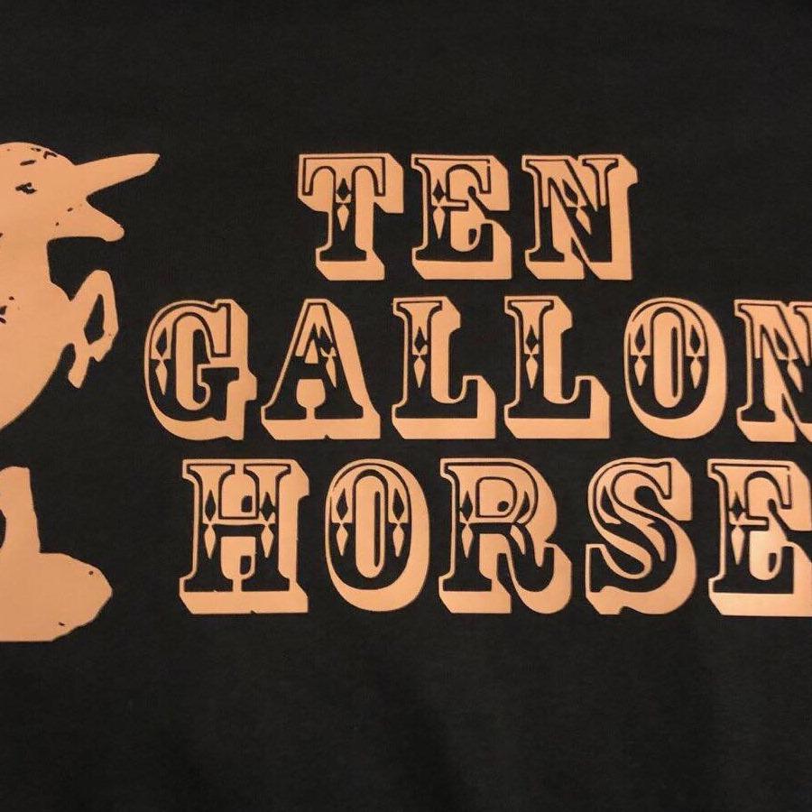 Ten Gallon Horse at Blumenhof Winery