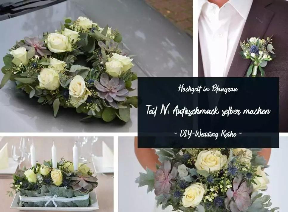 Blumenschmuck Fur Fahrzeuge Autoschmuck Hochzeitsfloristik