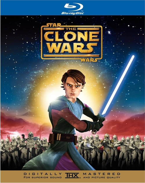 'Star Wars: The Clone Wars' Blu-ray Cover Art. Release date: November 11,