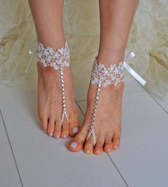 Beach Wedding Wedges