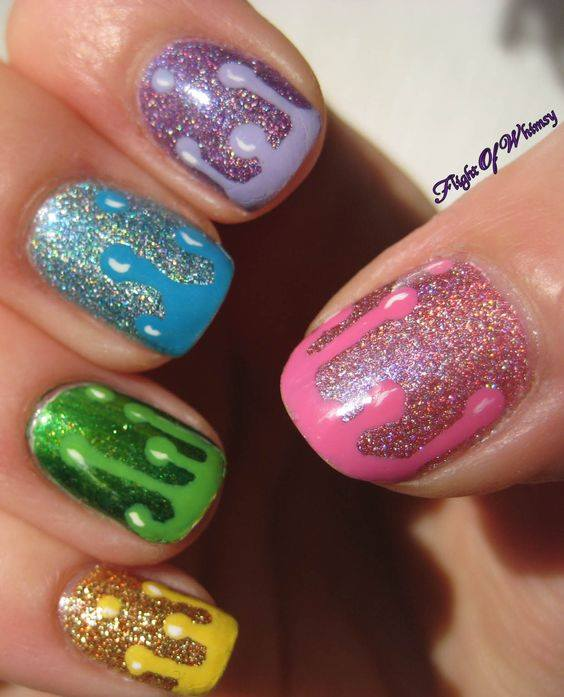 Sy Shimmer Nail Art