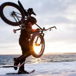 Fat Bike Winter Mountain Biking