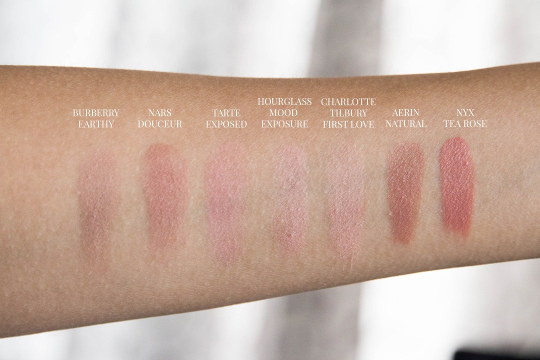 barely there blushes aerin nars burberry hourglass tarte-4