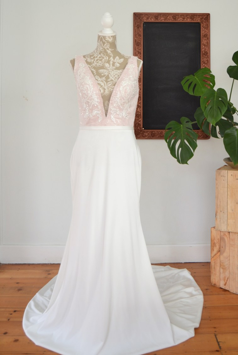 Mermaid Charissa wedding dress