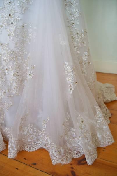Mermaid Ruby wedding dress