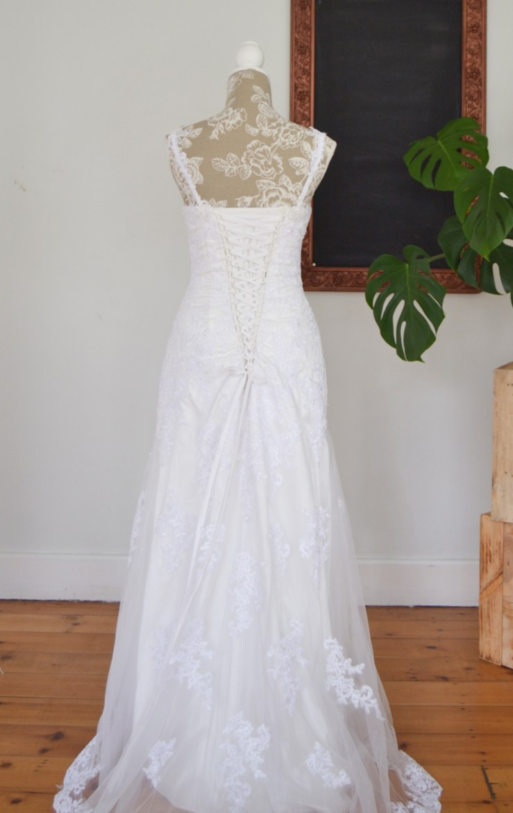 Sheath Taryn wedding dress
