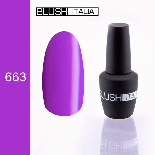 gel polish 663 blush italia