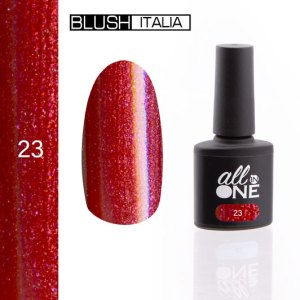 smalto semitrasparente all in one23 blush italia