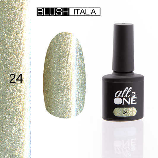 smalto semitrasparente all in one24 blush italia