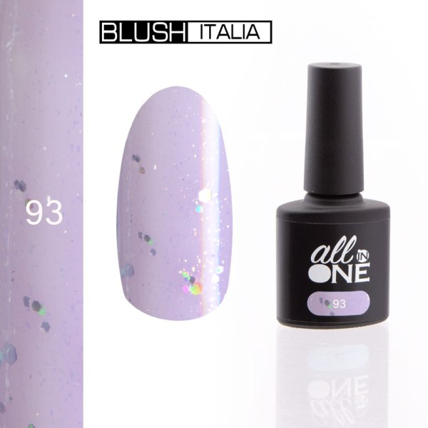 smalto semitrasparente all in one93 blush italia