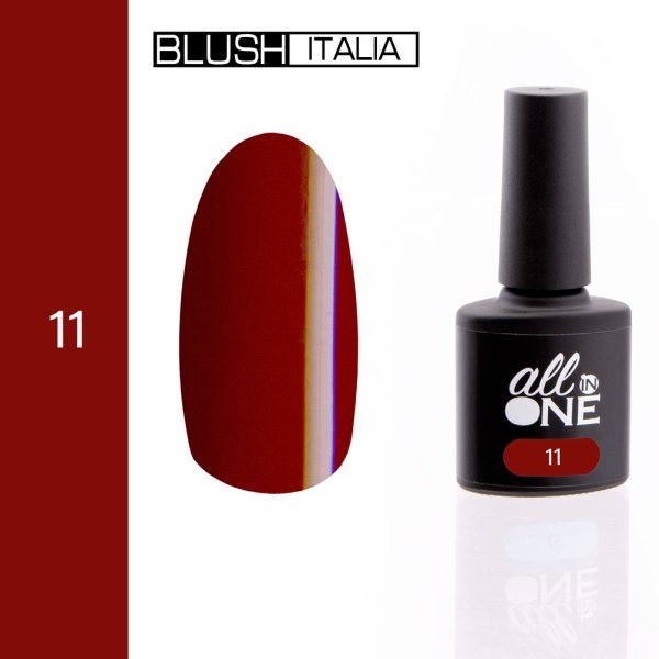 smalto semitrasparente all in one11 blush italia