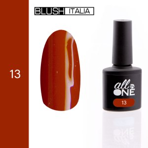smalto semitrasparente all in one13 blush italia