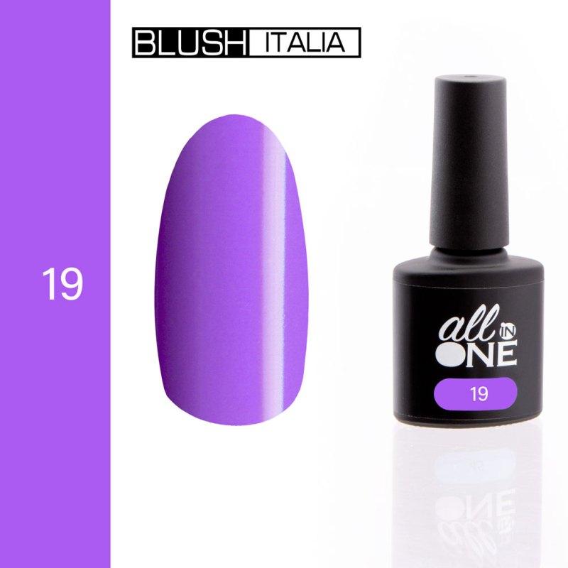 smalto semitrasparente all in one19 blush italia
