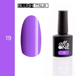 smalto semitrasparente all in one19 blush italia