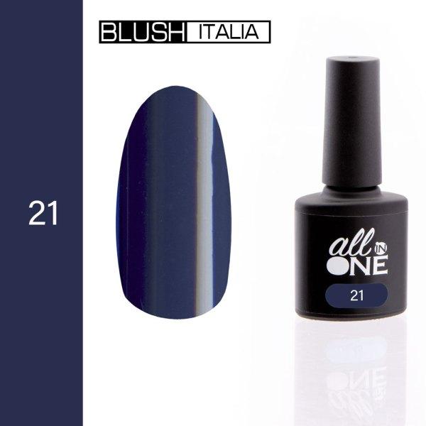 smalto semitrasparente all in one21 blush italia