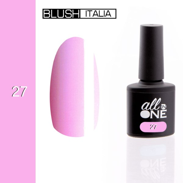 smalto semitrasparente all in one27 blush italia