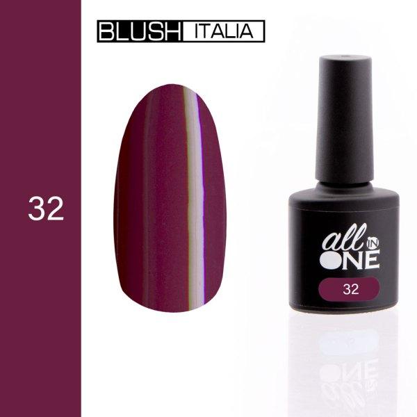 smalto semitrasparente all in one32 blush italia