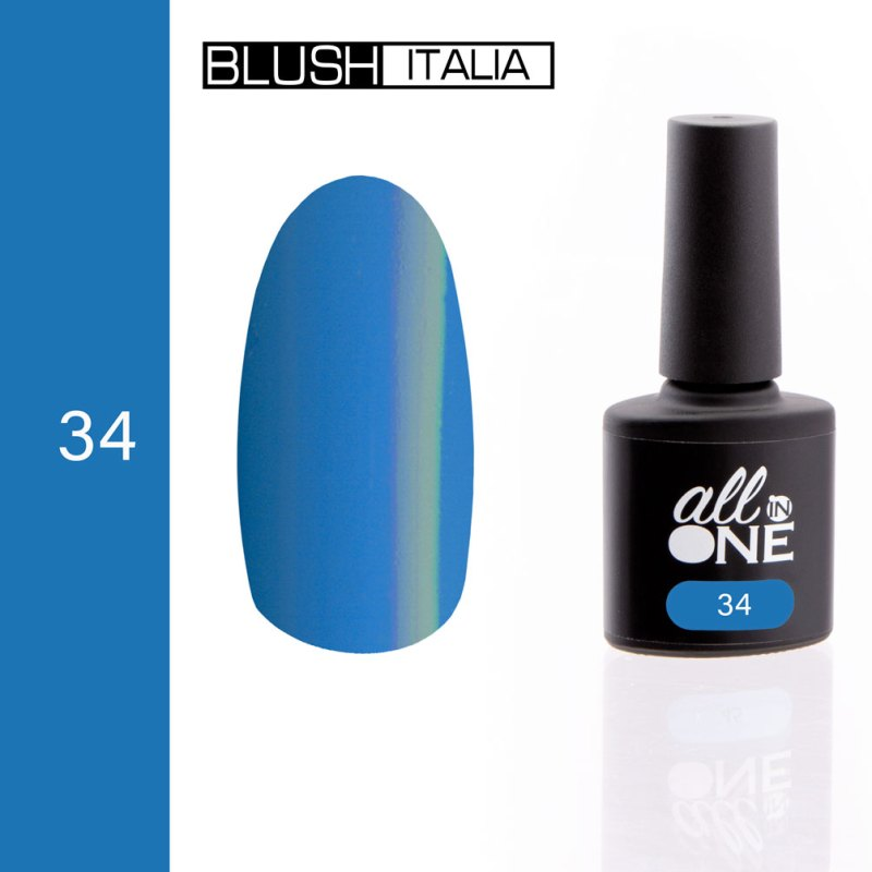 smalto semitrasparente all in one34 blush italia
