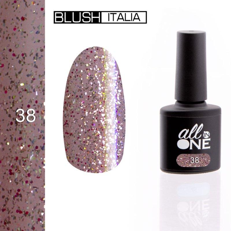 smalto semitrasparente all in one38 blush italia