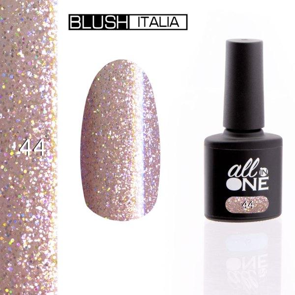 smalto semitrasparente all in one44 blush italia