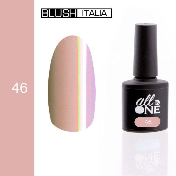 smalto semitrasparente all in one46 blush italia
