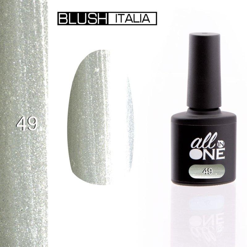 smalto semitrasparente all in one49 blush italia