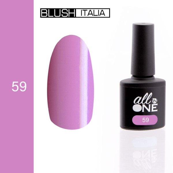 smalto semitrasparente all in one59 blush italia