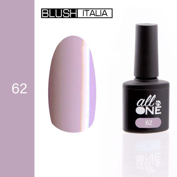 smalto semitrasparente all in one62 blush italia