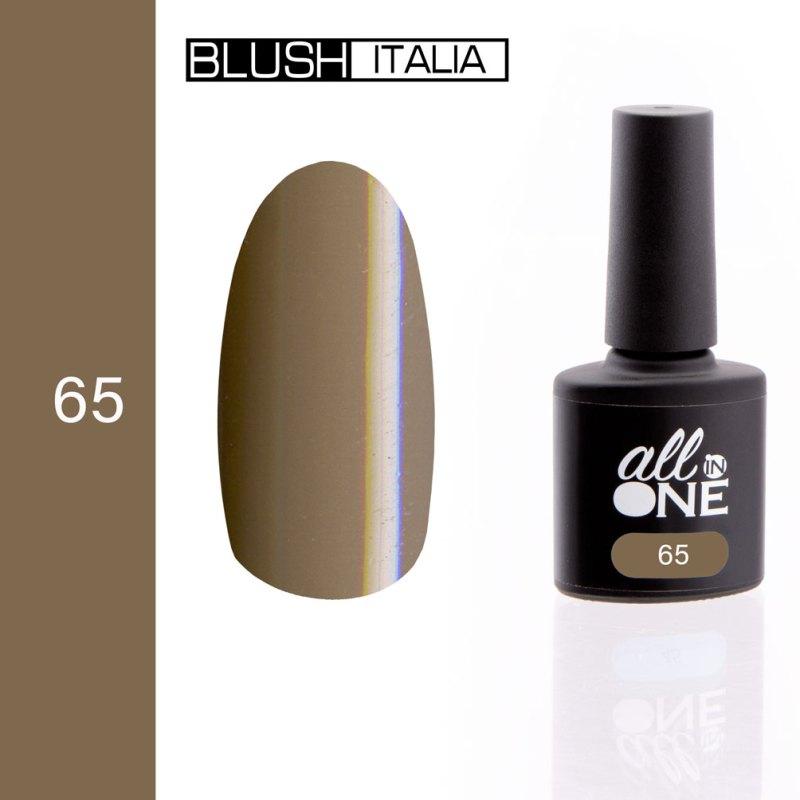 smalto semitrasparente all in one65 blush italia