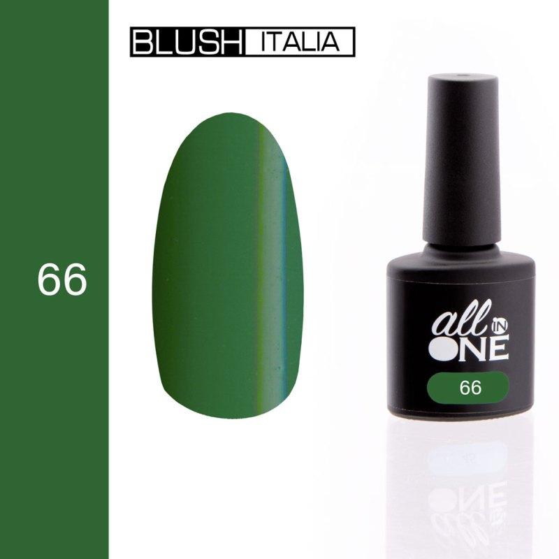 smalto semitrasparente all in one66 blush italia