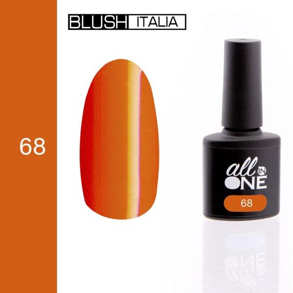 smalto semitrasparente all in one68 blush italia