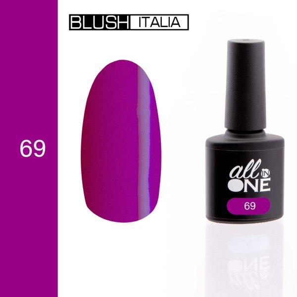 smalto semitrasparente all in one69 blush italia