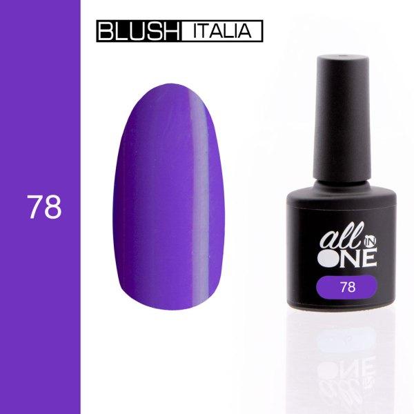 smalto semitrasparente all in one78 blush italia