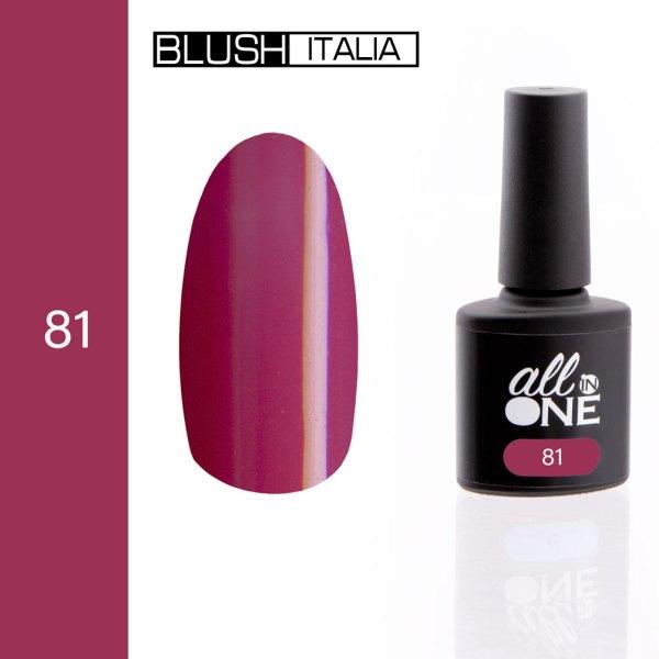 smalto semitrasparente all in one81 blush italia