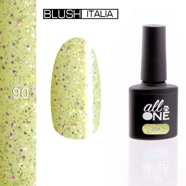 smalto semitrasparente all in one90 blush italia