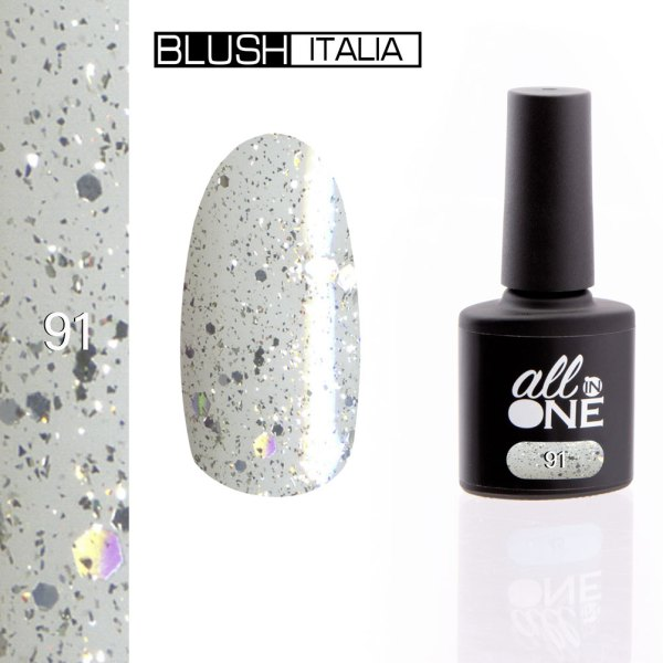 smalto semitrasparente all in one91 blush italia