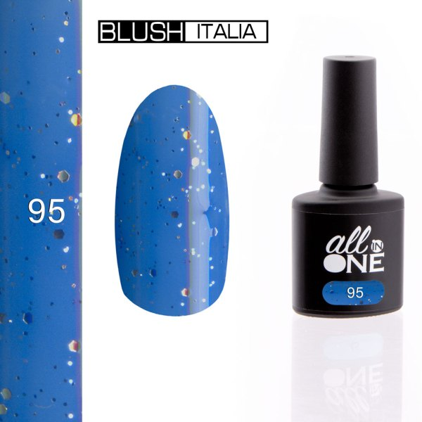 smalto semitrasparente all in one95 blush italia