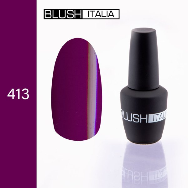 gel polish 413 blush italia