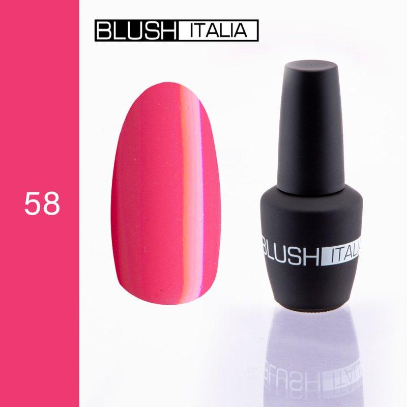gel polish 58 blush italia
