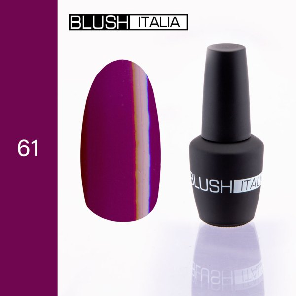 gel polish 61 blush italia