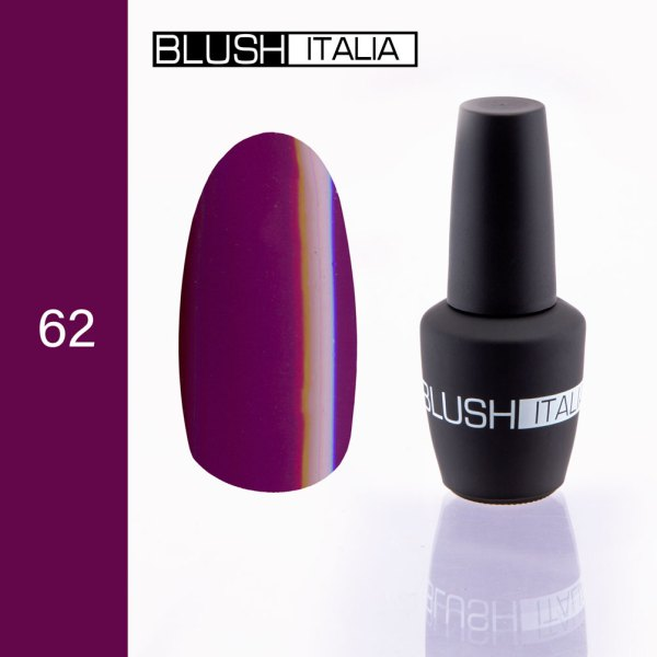 gel polish 62 blush italia