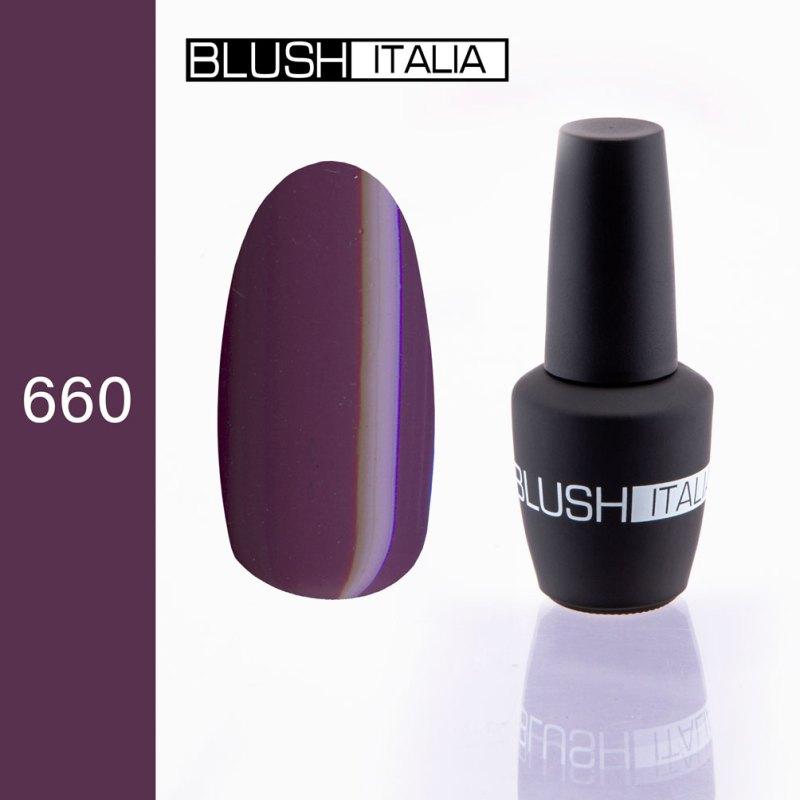 gel polish 660 blush italia