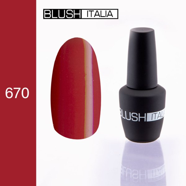 gel polish 670 blush italia