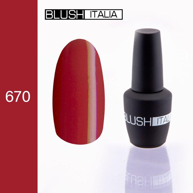 gel polish 670 blush italia