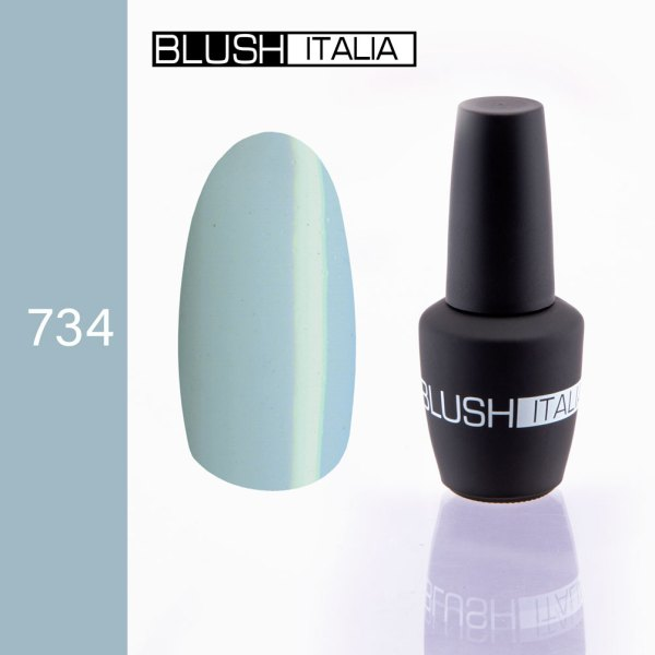 gel polish 734 blush italia
