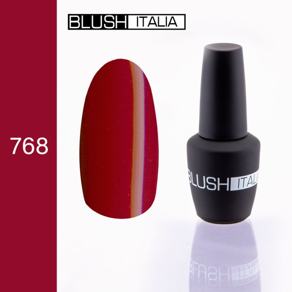 gel polish 768 blush italia