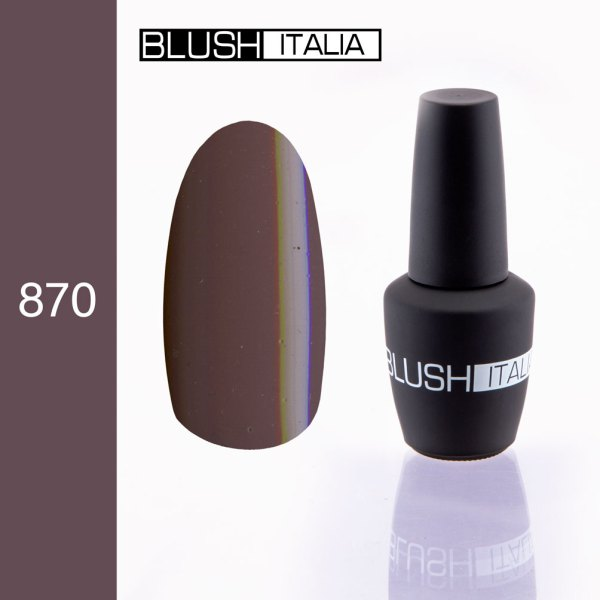 gel polish 870 blush italia