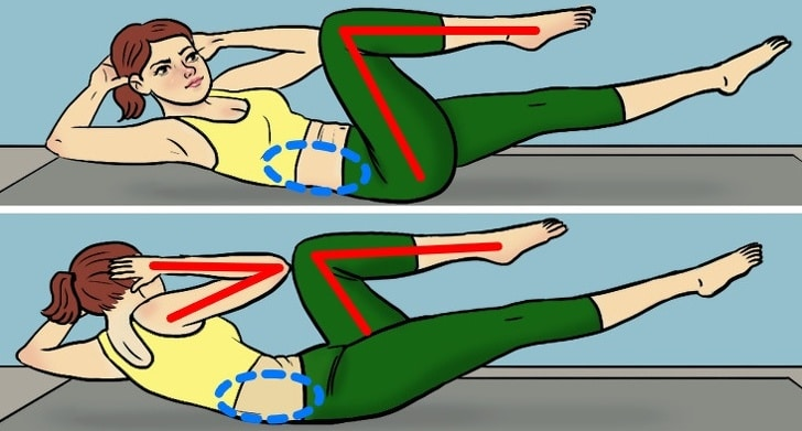 6 Best Exercises To Reduce Belly Fats In Less Than One Month 1
